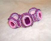 Vintage Pink & Purple