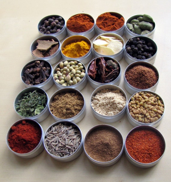 ETHIOPIAN MakeAMeal Spice Kit - 20 spices and Recipes for you to make a complete meal