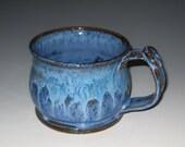 Blue on Blue Soup Mug SALE