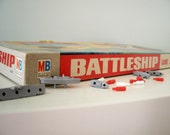 Vintage Battleship Game 1967 Milton Bradley Co.
