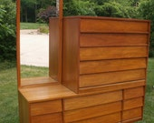 RESERVED  For Someone Special....Vintage Retro Style Dresser Two in One Versatile Bedroom Furniture