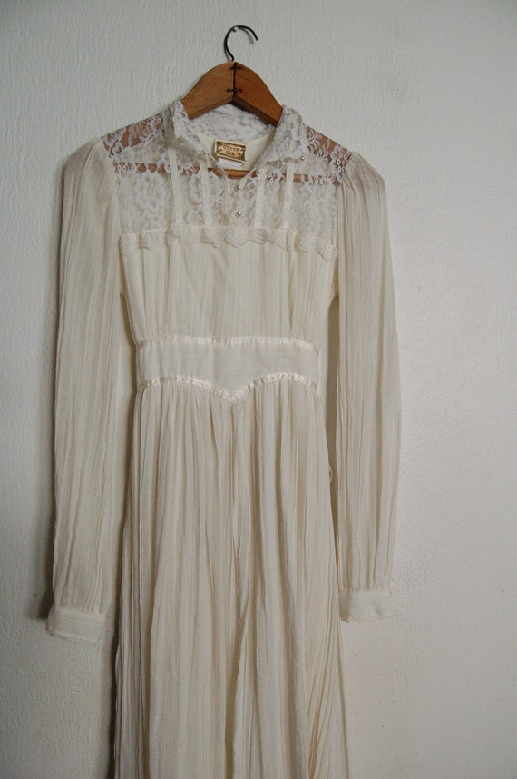 Vintage 1970s Gunne Sax Wedding Dress By Missingpieces On Etsy