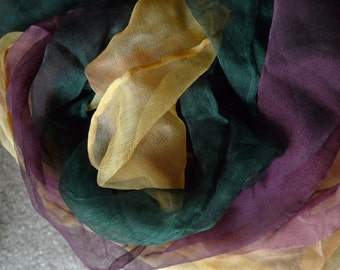 Silk Scarf for Nuno Felting