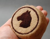 Horse (Felted Natural Soap)
