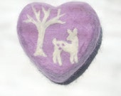 Lovely Fawn (Felted White Magnolia Soap)