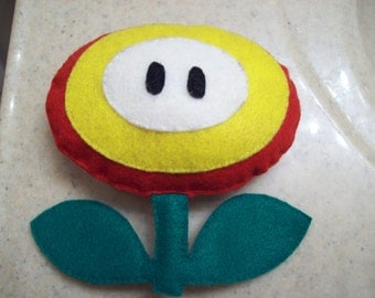 Super Mario Fire or Ice Flower Plushie