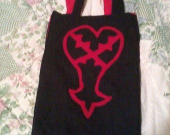 Kingdom Hearts Reversible Heartless and Unversed Tote Bag