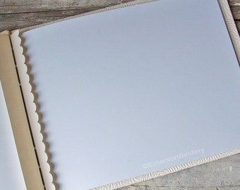 Add On: Extra Unlined Card Stock Pages
