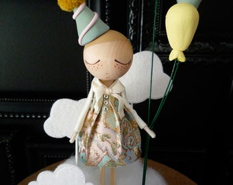 Birthday Cake Topper-Custom Keepsake