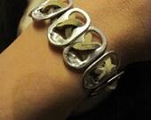 Pop Tab Bracelet Like ones worn by Kristen Stewart - Natural