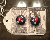Daisy Duke Button Earrings