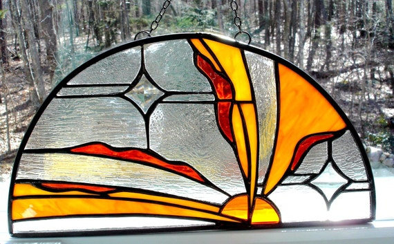Stained glass, Here comes the sun