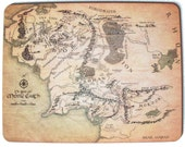 Tolkien Map of Middle Earth Placemat