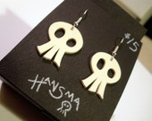 Stylized Skull Earrings