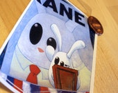 Citizen Kane bunny vinyl sticker