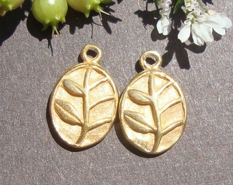 BULK 32 pcs, 24K Gold vermeil over Sterling silver Little flower Charm Pendant or Earring Drops, 12x7.7x2.6 mm, PC-0095