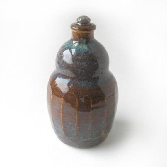 Stoneware Oil Decanter