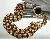 Vintage Hobe Necklace Egyptian Revival 1960s Jewelry