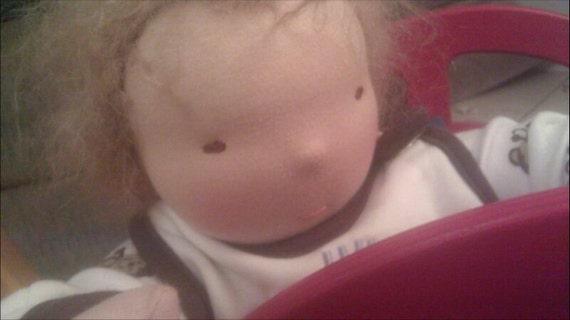 Micheal: Waldorf Baby Doll Custom made