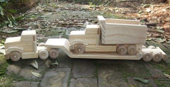 Wooden Toy Wee Lowboy