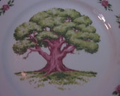 collector plate vintage 1973 fifth avon anniversary the great oak plate