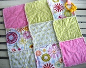 Rag Quilt Lovey in Carnival Fun