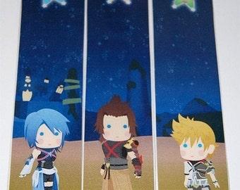 Kingdom Hearts Birth By Sleep Bookmarks Aqua/Terra/Ven