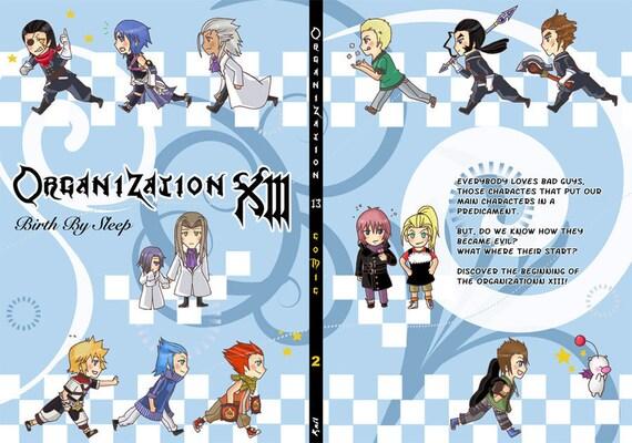 Kingdom Hearts Organization 13 comic 2