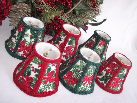 Holiday X Mas Chandelier Shades Set Of 6