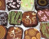 Box of Sixteen Fine Handmade Chocolate Truffles From Montana