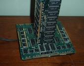 Circuit Board Lamp - Ram Chips - Memory - Computer Lamp
