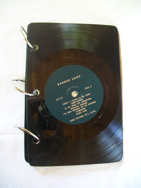 Record Cover Journal - Sketch Book