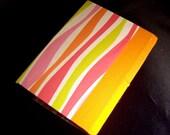 Handmade Hardcover Zebra Print Mini Journal