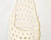 Newborn Hanging Cocoon/Stork Pouch - UNISEX - NEUTRAL CREAM - Photography Prop