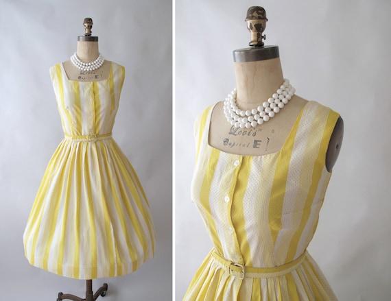 Vintage 1950s 60s Sunshine Girl Sundress