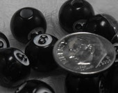 Vintage Eight Ball Beads