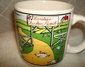 Boneless Chicken Far Side Coffee Cup by Gary Larsen