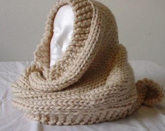 Melinda's Big Honkin Knit Scarf Pattern