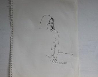 A Few Lines figure drawing