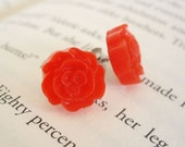 Cherry Rose Earrings