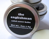 The Englishman Solid Scent Balm - Leather, Earl Grey, Tobacco... NEW SIZE