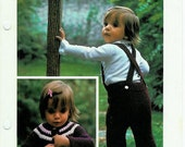 Quick KNIT Overalls and Cardigan
