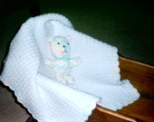 Teddy Luvy Blanket