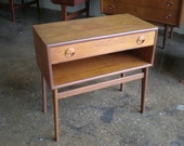 Sweetest Little Danish Modern Table or Nightstand