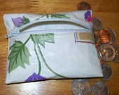 Tablecloth Zip Coin Purse