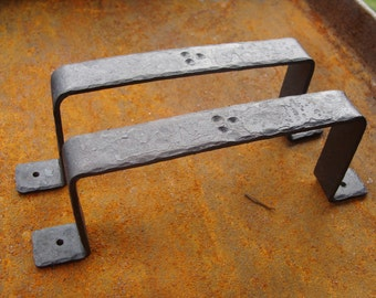 Rustic Hand-forged Drawer Door Pull Handles