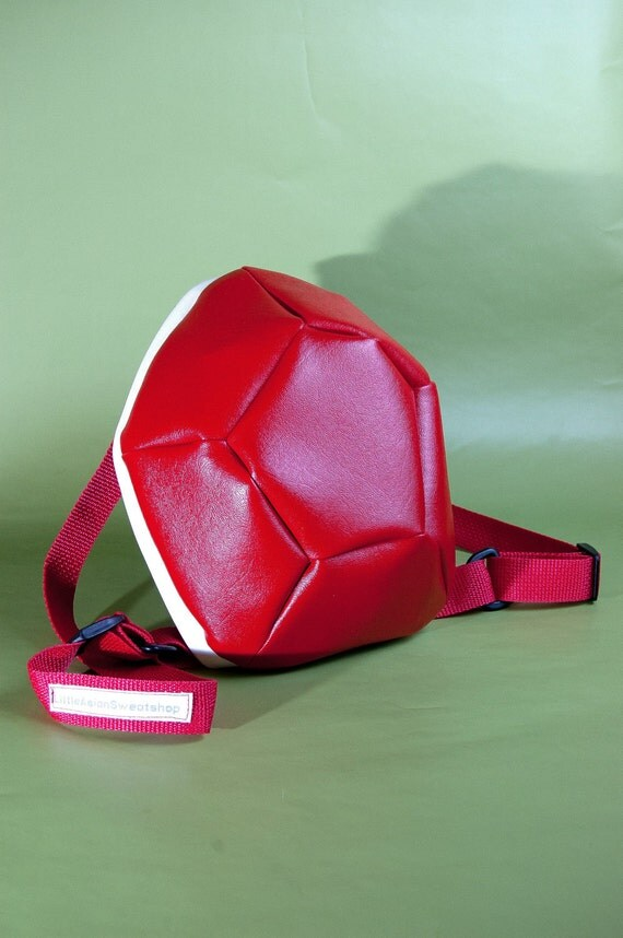 Items similar to Red Turtle Shell Backpack (small) on Etsy