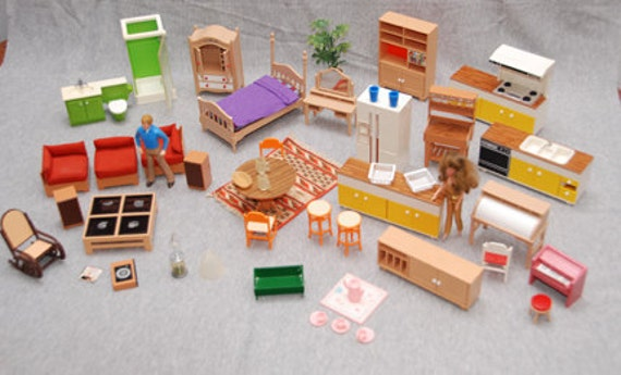 Spring Clearance Reduced Vintage Doll House Furniture For