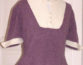 Vintage style sweater from original 1950s pattern