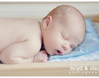 Baby Pillow Prop - Custom Color One Pastel Infant Prop Pillow